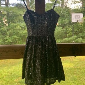 Strapless Sparkle Dress